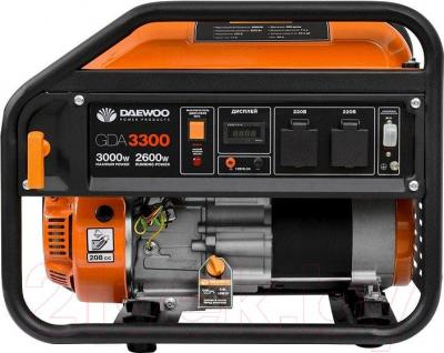 Бензиновый генератор Daewoo Power GDA 3300