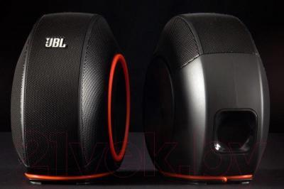 Мультимедиа акустика JBL Pebbles (черный)