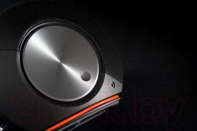 Мультимедиа акустика JBL Pebbles (бело-оранжевый)