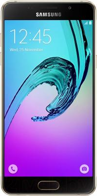 Смартфон Samsung Galaxy A5 2016 / A510F (золотой)