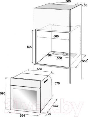 Электрический духовой шкаф Beko BIE25400XM