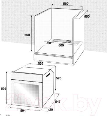 Электрический духовой шкаф Beko BIE22400XM