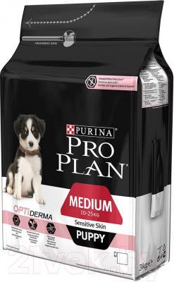 Корм для собак Pro Plan Puppy Medium Sensitive Skin (3 кг) - общий вид