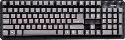 Клавиатура Sven Standard 301 USB (серый)