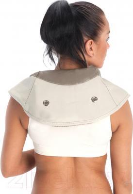 Массажная накидка Bradex Здоровая спина KZ 0096 - прекрасно обволакивает контуры шеи и плеч