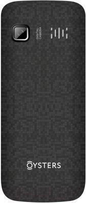 Мобильный телефон Oysters Lipetsk (черный) - вид сзади