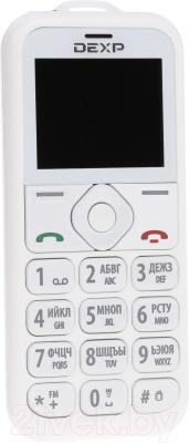 Мобильный телефон DEXP Larus Senior (белый)
