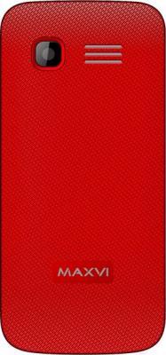 Мобильный телефон Maxvi B3 (красный)