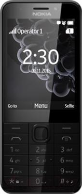 Мобильный телефон Nokia 230 (темно-серебристый)