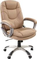 Кресло офисное Chairman 668 (бежевый, экопремиум) -