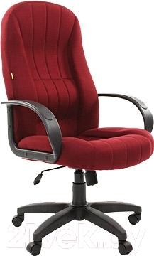 Кресло офисное Chairman 685 (бордовый)