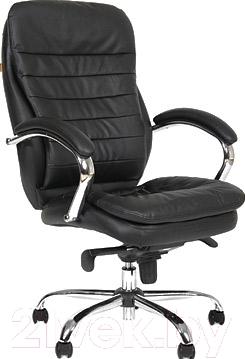Офисное кресло/стул Chairman 795 (черный, кожа)
