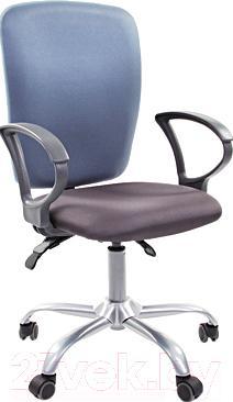 Кресло офисное Chairman 9801 (серо-голубой)