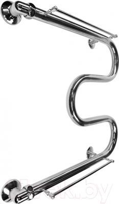 Полотенцесушитель водяной Terminus М-образный 32 ПС 500х600 (с полкой)