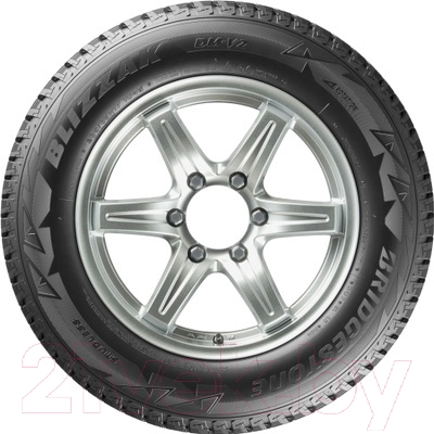 Зимняя шина Bridgestone Blizzak DM-V2 235/65R18 106S