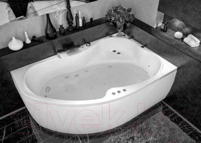 Ванна акриловая Aquanet Capri 160x100 R - в интерьере