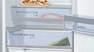Холодильник с морозильником Bosch KGN39XD18R