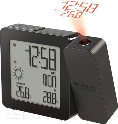 Метеостанция цифровая Oregon Scientific BAR368P-BK