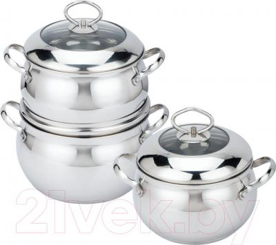 Набор кухонной посуды Bekker BK-1582 - общий вид