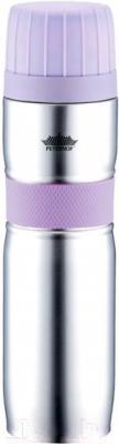 Термос для напитков Peterhof PH-12420-9 (фиолетовый)