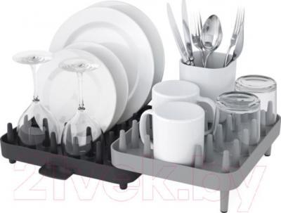 Сушилка для посуды Joseph Joseph Connect 85035 (серый) - общий вид
