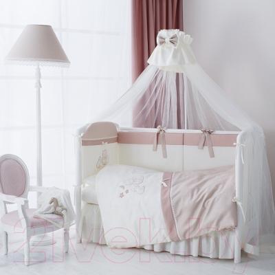 Комплект в кроватку Perina Котята КТ6-01.2 (Карамель) - в интерьере (балдахин в комплект не входит)