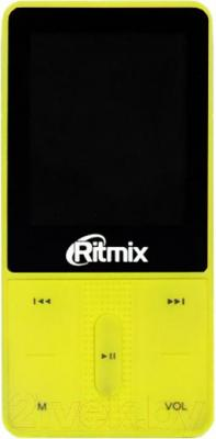 MP3-плеер Ritmix RF-4550 (8Gb, желтый)