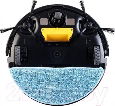 Робот-пылесос Gutrend Fun 110 Pet (черный/белый) - волокнистая салфетка для влажной уборки