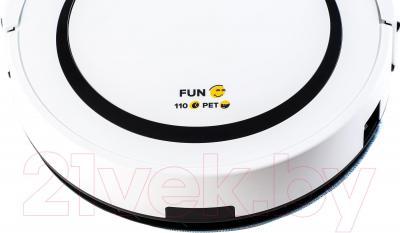 Робот-пылесос Gutrend Fun 110 Pet (белый/черный)