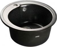 Мойка кухонная GranFest Rondo GF-R450 (черный) -