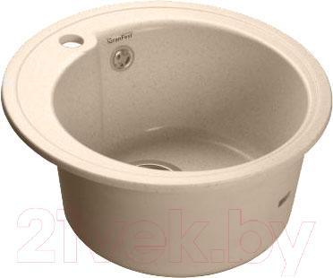 Мойка кухонная GranFest Rondo GF-R450 (белый)