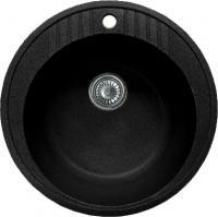 Мойка кухонная GranFest Rondo GF-R520 (черный) -