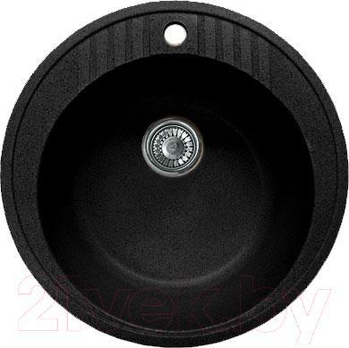 Мойка кухонная GranFest GF-R520 (черный)