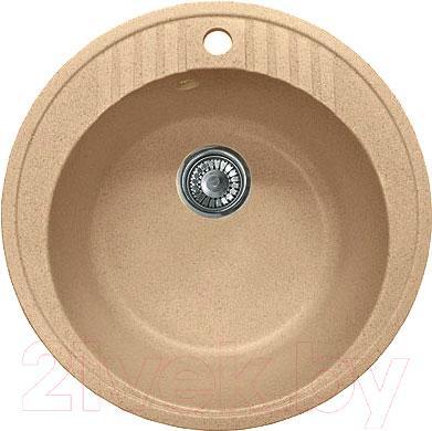 Мойка кухонная GranFest GF-R520 (песок)