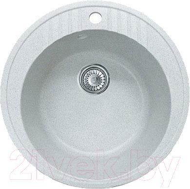 Мойка кухонная GranFest GF-R520 (белый)