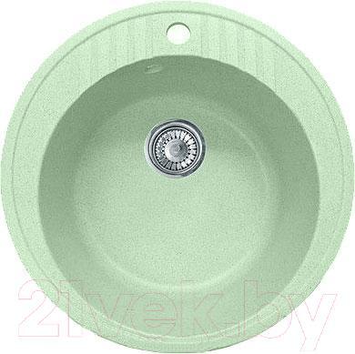 Мойка кухонная GranFest GF-R520 (салатовый)