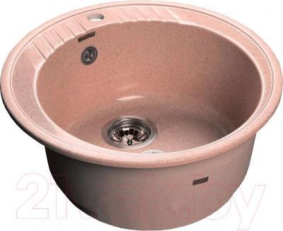 Мойка кухонная GranFest GF-R520 (розовый)