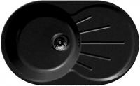 Мойка кухонная GranFest Rondo GF-R750L (черный) -