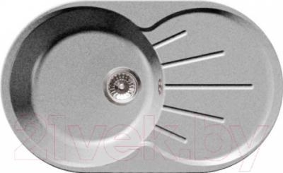 Мойка кухонная GranFest GF-R750L (серый)