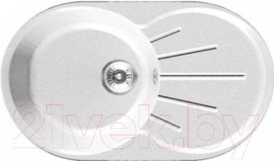 Мойка кухонная GranFest GF-R750L (белый)