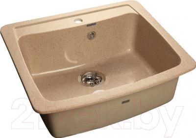 Мойка кухонная GranFest GF-S605 (песок)