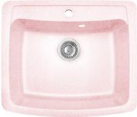 Мойка кухонная GranFest GF-S605 (светло-розовый) -