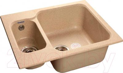 Мойка кухонная GranFest GF-S615K (песок)