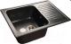 Мойка кухонная GranFest GF-S645L (черный) -