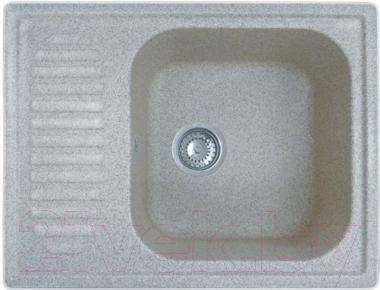 Мойка кухонная GranFest GF-S645L (серый)