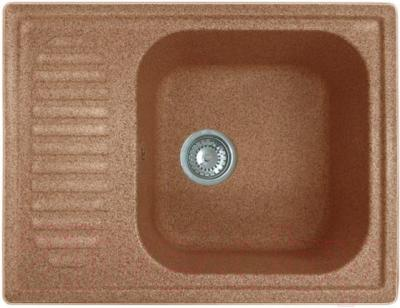 Мойка кухонная GranFest GF-S645L (терракотовый)