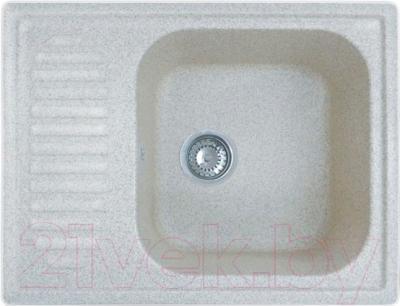 Мойка кухонная GranFest GF-S645L (белый)