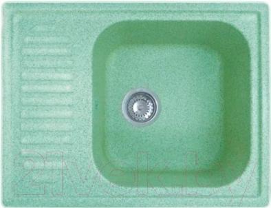 Мойка кухонная GranFest GF-S645L (салатовый)