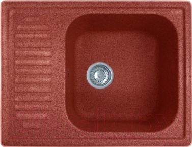 Мойка кухонная GranFest Standart GF-S645L  (красный марс)