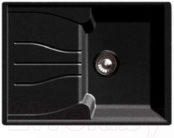 Мойка кухонная GranFest Standart GF-S680L (черный)